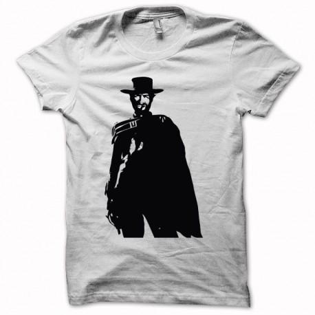Tee shirt Clint Eastwood Le Bon, la Brute et le Truand noir/blanc