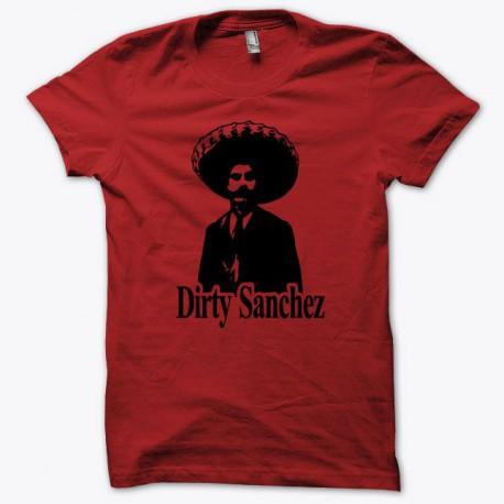 Tee shirt Dirty Sanchez noir/rouge