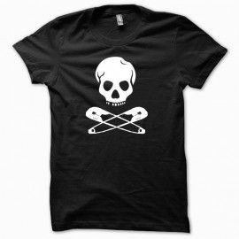Punk t-shirt parody black jackass