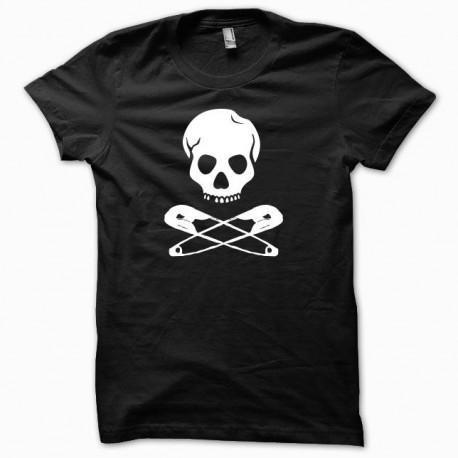 Tee shirt Punk parodie jackass noir