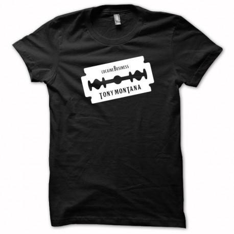 Tee shirt Cocaine business Tony montana noir