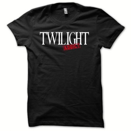 Tee shirt Twilight addict blanc/noir