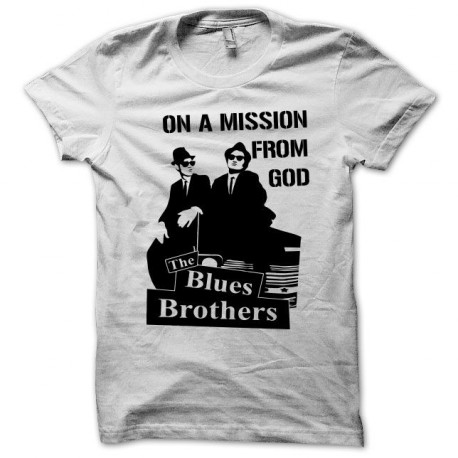 Tee shirt Blues Brothers noir/blanc