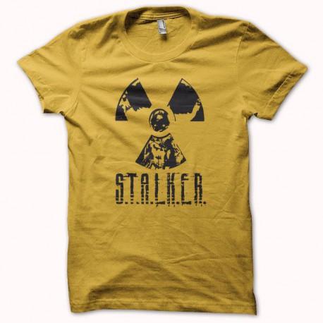 Tee shirt S.T.A.L.K.E.R jaune/noir
