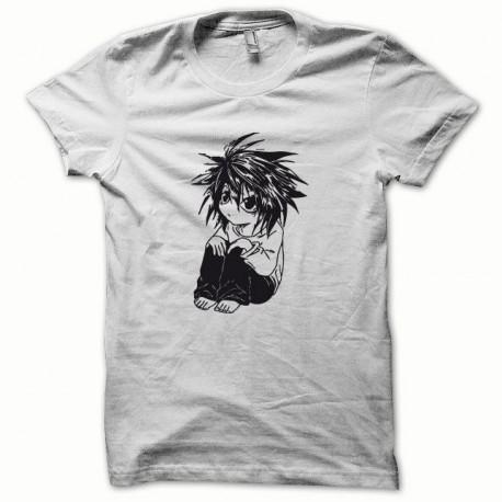 Tee shirt Parodie Death Note noir/blanc