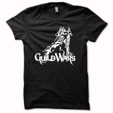 Tee shirt Guild Wars blanc/noir