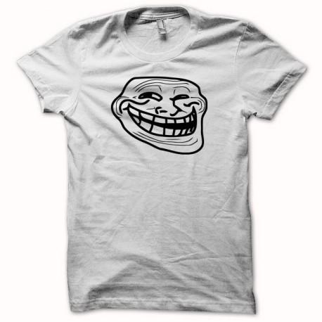 Tee shirt  Troll trollage blanc