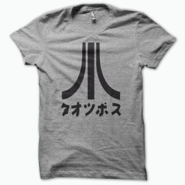 T-shirt Atari Japon black/gray