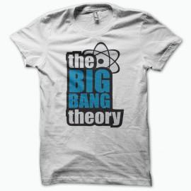 Tee shirt The Big Bang Theory blanc
