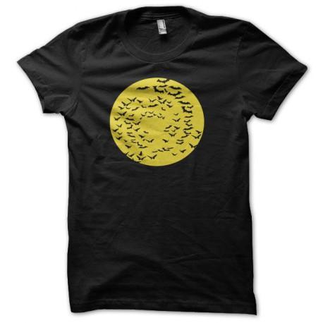 Tee shirt Batman chauve-souris jaune/noir