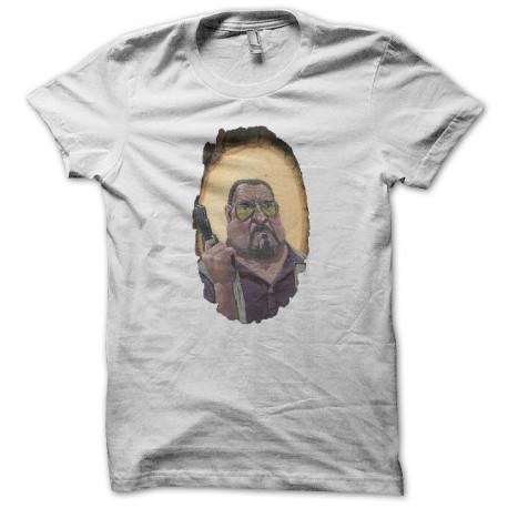 Tee shirt The Big Lebowski Walter Sobchak blanc