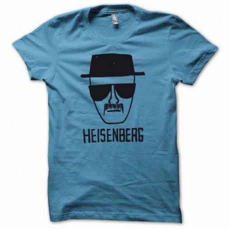 Tee shirt Breaking bad Heisenberg noir/bleu