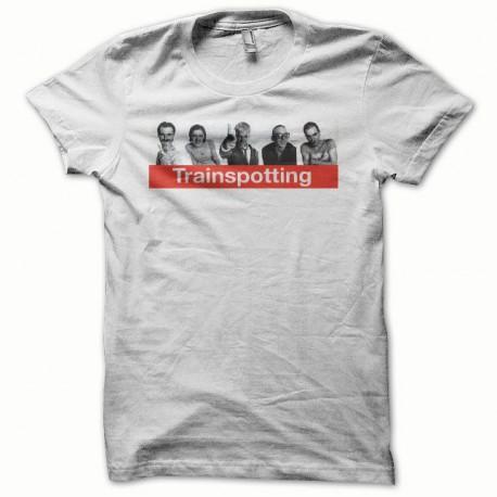 Tee shirt Trainspotting blanc