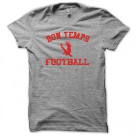 Camiseta True blood University bon temps gris