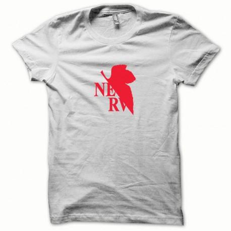 Tee shirt Nerv rouge/blanc