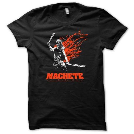 Tee shirt Machete Macheté blanc/noir