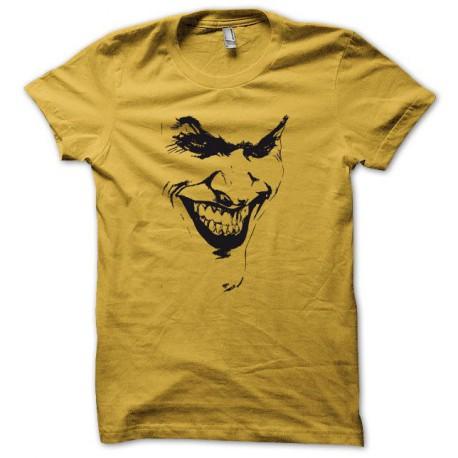Tee shirt Batman Joker jaune/noir