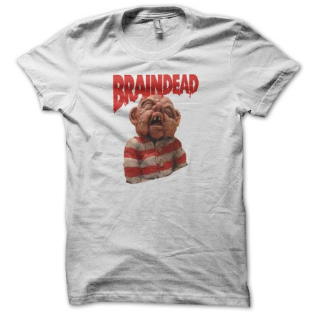 Tee shirt Braindead blanc