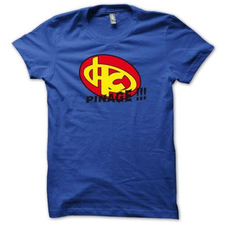 Tee shirt Hero corp Pinage bleu