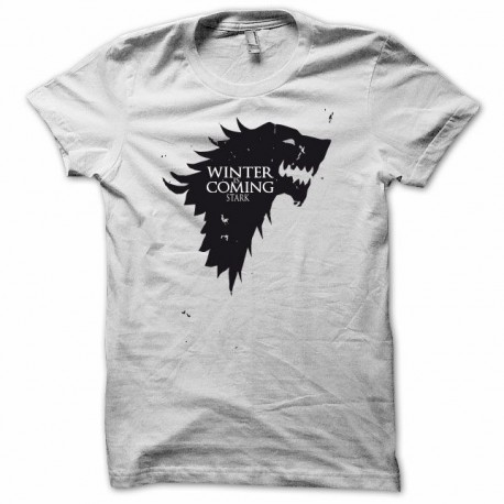 Tee shirt Le Trône de fer Game of thrones blanc