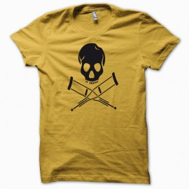 T-shirt Jackass black/yellow
