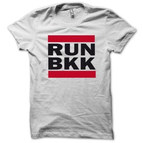 Tee shirt RUN BKK blanc