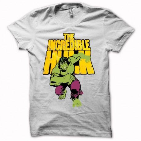 Tee shirt L'incroyable HULK Bruce Banner blanc