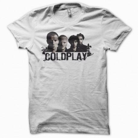 Tee shirt Coldplay blanc