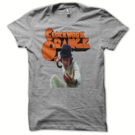 Camiseta Naranja mecánica La naranja mecánica gris