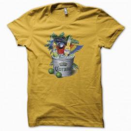 Tee shirt Corona Extra original vintage jaune