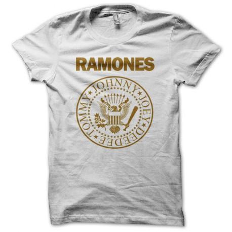 Tee shirt RAMONES blanc