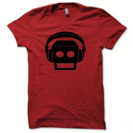 camiseta LMFAO robot Party Rock Anthem rojo/negro