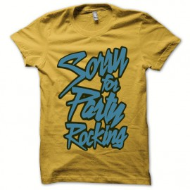 T-shirt LMFAO Party Rock Anthem  everyday i'm shufflin yellow