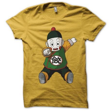Tee shirt Chaozu dragon ball 餃子  jaune