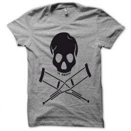 Camiseta Jackass negro/gris