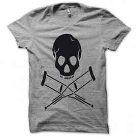 T-shirt Jackass black/gray