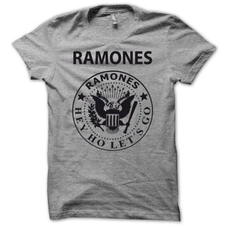 Tee shirt RAMONES gris