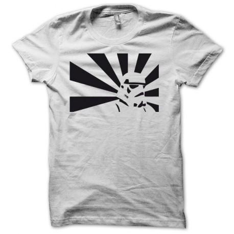 Tee shirt Parodie Star Wars Stormtrooper noir/blanc