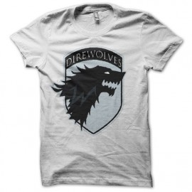 Tee shirt Le Trône de fer rare édition Game of thrones blanc