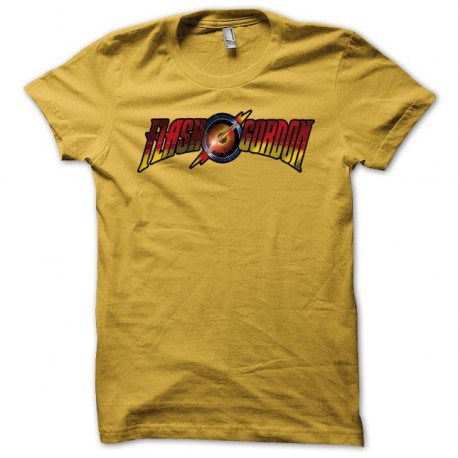 Tee shirt Flash gordon jaune