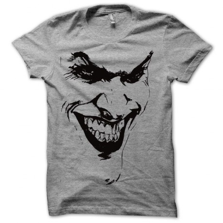 Tee shirt Batman Joker gris/noir