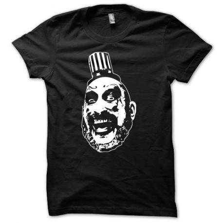 Tee shirt clown psycho Noir
