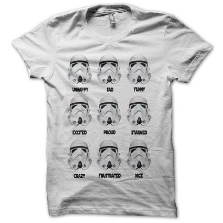 Tee shirt  Star Wars Stormtrooper Portraits noir/blanc