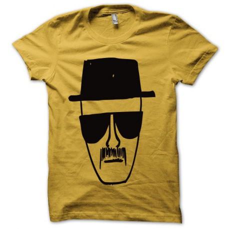 Tee shirt Breaking bad Heisenberg noir/jaune