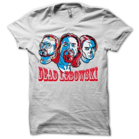 Tee shirt The Big Lebowski parodie dead lebowski noir/blanc