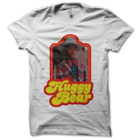 Tee shirt Starsky et Hutch Huggy les bons tuyaux noir/blanc
