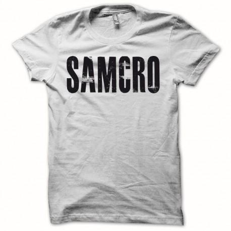 Tee shirt Sons Of Anarchy SAMCRO noir/blanc