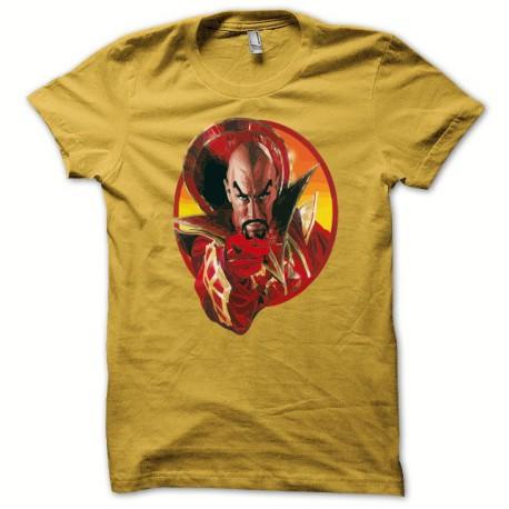 Tee shirt Flash gordon MING  jaune