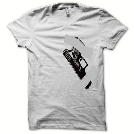 Tee shirt Glock 17 holster noir/blanc