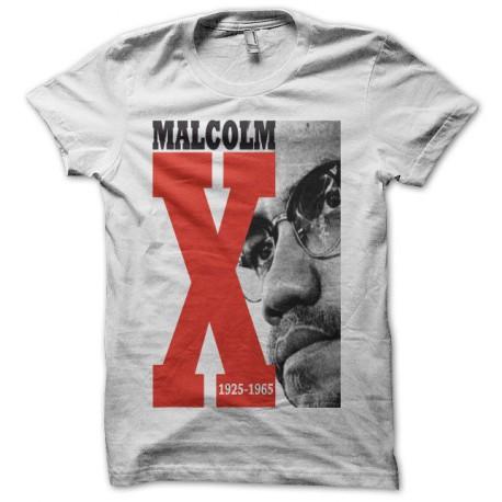 Tee shirt Malcolm X noir/blanc